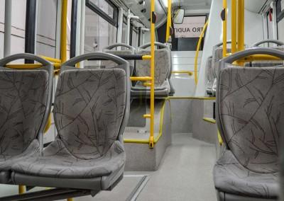 Interior autobús urbano