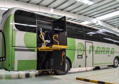 Autocar adaptado PMR