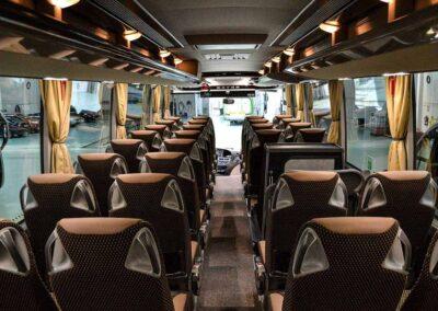 Interior de autocar