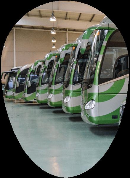 Servicios alquiler autobuses