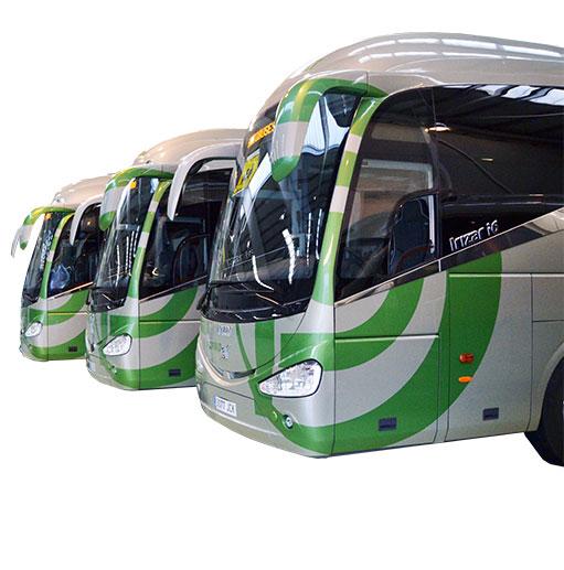 Autobuses en La Rioja y Navarra